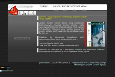 Uprokon-Usługi projektowe-konstrukcyjne. Bogusław Cieślak - Schody drewniane Opole