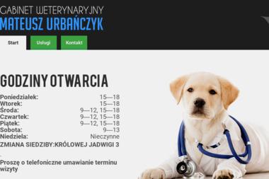 Gabinet Weterynaryjny Mateusz Urbańczyk - Usługi Weterynaryjne Chełmek