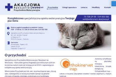 Przychodnia Weterynaryjna Akacjowa lek. wet. Jarosław Kopciał. Weterynarz - Weterynarz Kiełczów