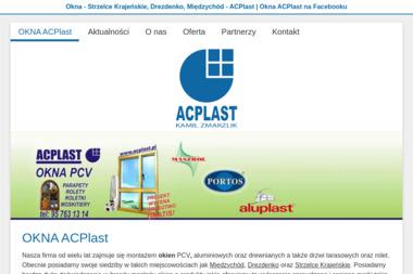 Okna ACPlast - Okna z PCV Strzelce Krajeńskie