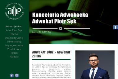Kancelaria Adwokacka Adwokat Piotr Sęk - Radca Prawny Łódź
