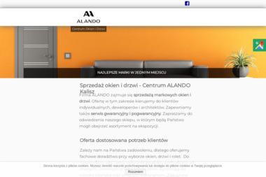 Alando - Sprzedaż Okien PCV Kalisz