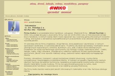 AWIKO - Okna PCV Ostrzeszów