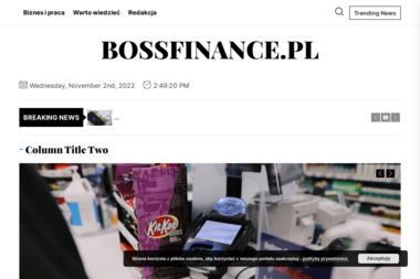 Boss Finance Sp. z o.o. - Doradcy finansowi II - Kredyt hipoteczny Legnica