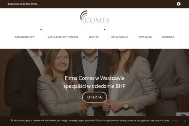 Comes - przedsiębiorstwo usług BHP - Kurs Kpp Warszawa