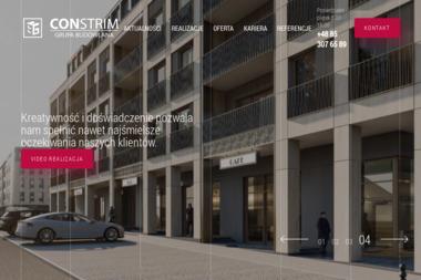 CONSTRIM Grupa Budowlana - Konstrukcje stalowe Białystok