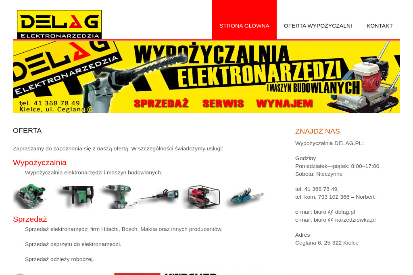 DELAG - Maszyny budowlane Kielce