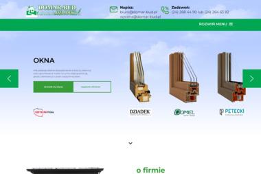 DOMAR-BUD - Okna Płock