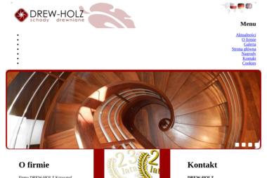 DREW-HOLZ - Schody Metalowe Wewnętrzne Brzeźno