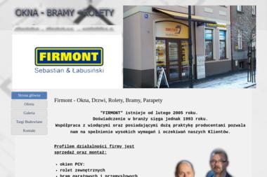 FIRMONT - Okna aluminiowe Nowa Sól