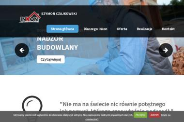 Biuro Obsługi Inwestycji Budowlanych INKON Szymon Czajkowski - Kierownik budowy Siemoń