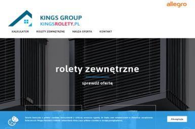 Kings Group Sp. z o.o. - Rolety na Okna Warszawa