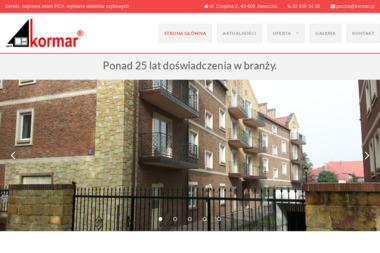 Kormar - Sprzedaż Okien PCV Jaworzno