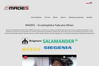 GFO MADES - Stolarka Aluminiowa Grudziądz