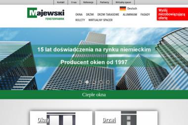 Majewski Fensterfabrik - Okna PCV Nysa