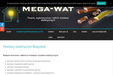 Mega-Wat Grzegorz Maciorowski - Remonty biur Białystok