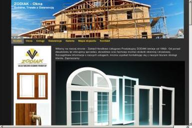 Zakład Handlowo Usługowo Produkcyjny ZODIAK - Okna aluminiowe Lubań