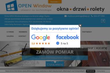 OPEN Window - Sprzedaż Okien PCV Tarnowskie Góry