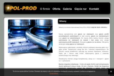 POL-PROD GIĘCIE RUR i PROFILI - Strona Internetowa Mysłowice