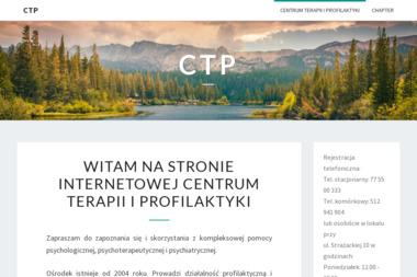 CTP - Centrum Terapii i Profilaktyki - Psycholog Strzelce Opolskie