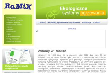 P.P.H.U.Ramix - Firmy budowlane Tomaszów Mazowiecki