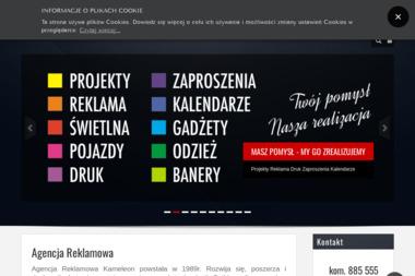 Kameleon Banery Reklamowe - Graficy Brzeźnio