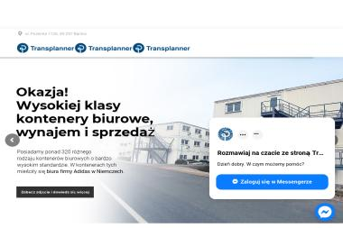 Transplanner sp. z o.o. - Zaplecze budowlane Banino