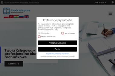 Twoja księgowa sp. z o.o. - Rachunkowość Warszawa