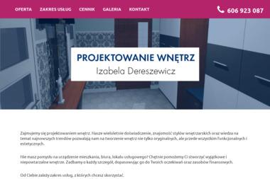 PROJEKTOWANIE WNĘTRZ - Izabela Dereszewicz - Architekt wnętrz Gostyń
