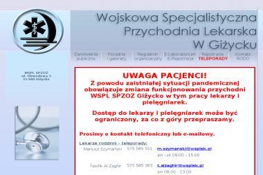 Wojskowa Specjalistyczna Przychodnia Lekarska-SP ZOZ w Giżycku - Psycholog Giżycko