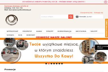 WszystkoDoKawy.pl - Ekspresy domowe Gliwice