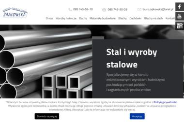 """Firma Handlowa """"Zajkowska"""" - Dachówki Roben Białystok"""