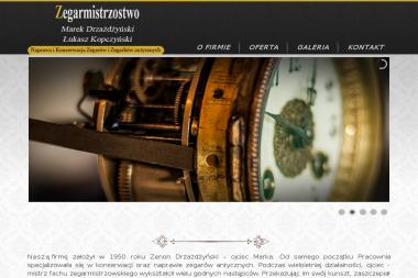 Pracownia Zegarmistrzowska Marek Drzażdżyński - Zegarmistrzowstwo Warszawa