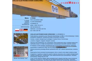 Zakład Elektromechaniki Dźwigowej Zemed - Windy Sosnowiec