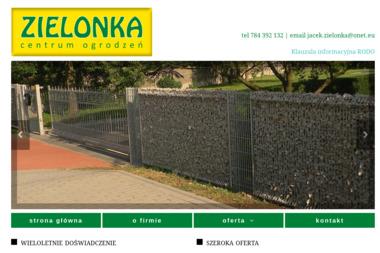 Zielonka Centrum Ogrodzeń - Balustrady Olesno
