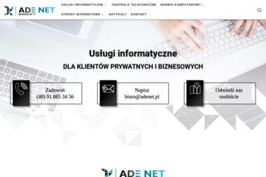 Adenet Wsparcie IT Adam Dziki - Firma Audytorska Szczecin
