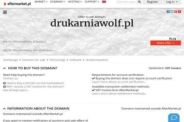 Drukarnia Wolf - Kalendarze Warszawa
