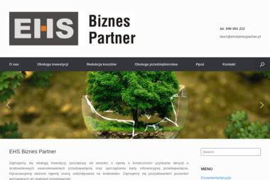 EHS Biznes Partner Dominik Krywionek - Ochrona środowiska Cierpice