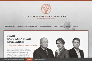 Filar, Sadowska-Filar, Szumlański Adwokacka Spółka Partnerska - Kancelaria Adwokacka Biała