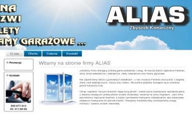ALIAS-Zbigniew Konieczny - Drzwi Dwuskrzydłowe Włocławek