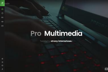 Pro Multimedia - Strona www Czeladź