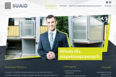 Spółdzielnia Usług Antenowych i Dźwigowych - Windy i dźwigi Poznań