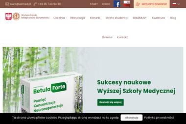 Wyższa Szkoła Medyczna w Białymstoku - Uczelnie wyższe Białystok
