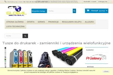 CTGlobal Kserokopiarki i Drukarki - Automatyka, elektronika, urządzenia Chwaszczyno