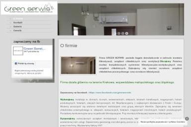 GREEN SERWIS klimatyzacja-chłodnictwo-wentylacja Rafał Zieliński - Komory Chłodnicze Częstochowa