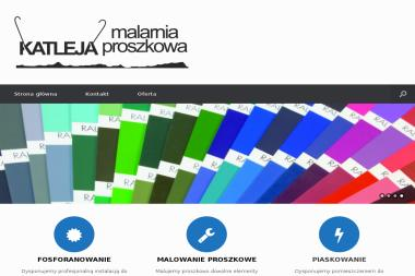 "Malarnia proszkowa ""KATLEJA"" - Ogrodzenia kute Szczecin"