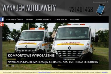 Autolaweta Wrocław wynajem Wietrzna Autolawety - Transport samochodów Wrocław