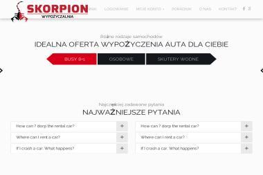 Wypożyczalnia Skorpion - Wypożyczalnia Aut Wrocław
