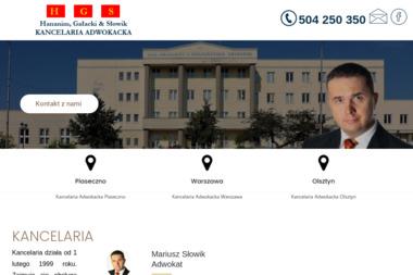 Kancelaria Adwokacka Adwokat Hananim, Gałacki & Słowik - Prawo Karne Piaseczno