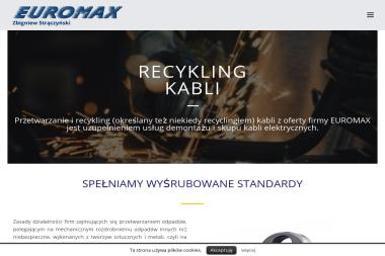 Recykling kabli - Euromax - Druty, przewody Częstochowa